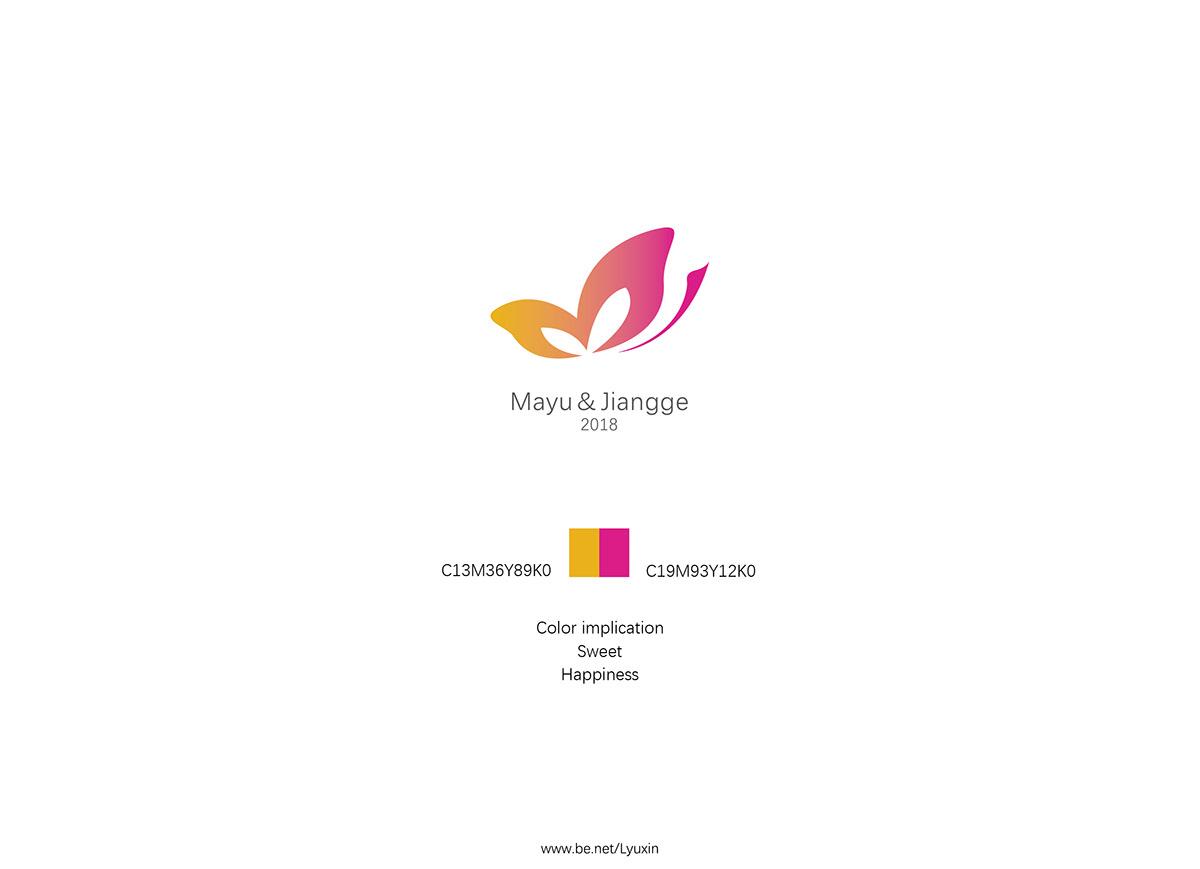 Mayujiangge Wedding Logo Lyu Xin Design On Behance