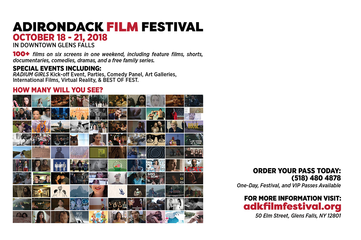 Adirondack Film Festival 2018 Marketing Materials on Behance