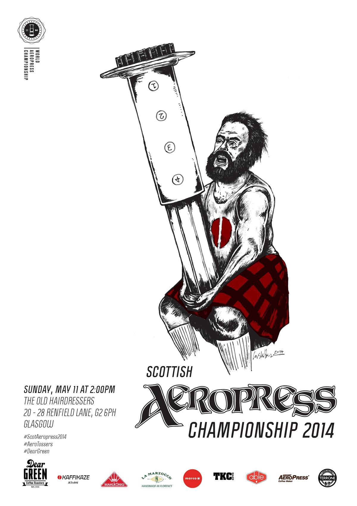 aerotossers aeropress championship coffee geek aeropress