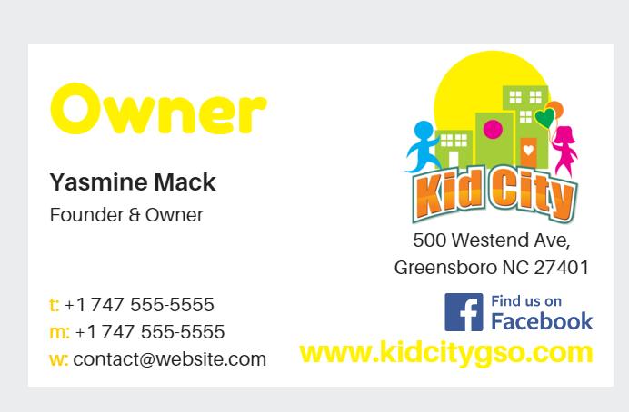 Kid city business card mockups on behance colourmoves