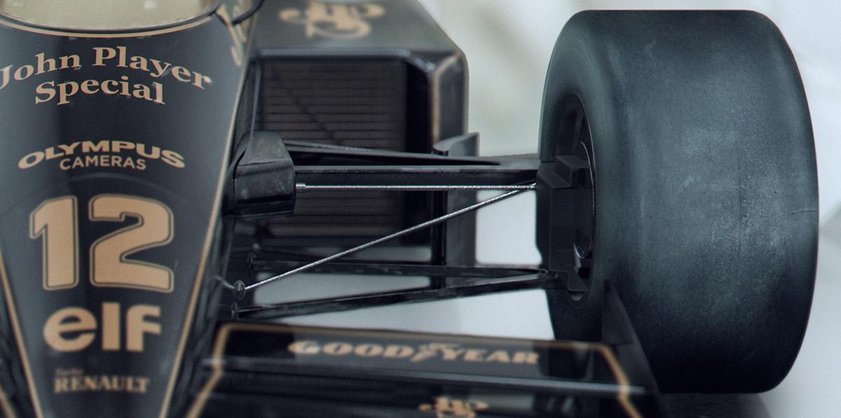 Lotus 97t ayrton senna Lotus CGI Quokka Czech formule 1 70's car