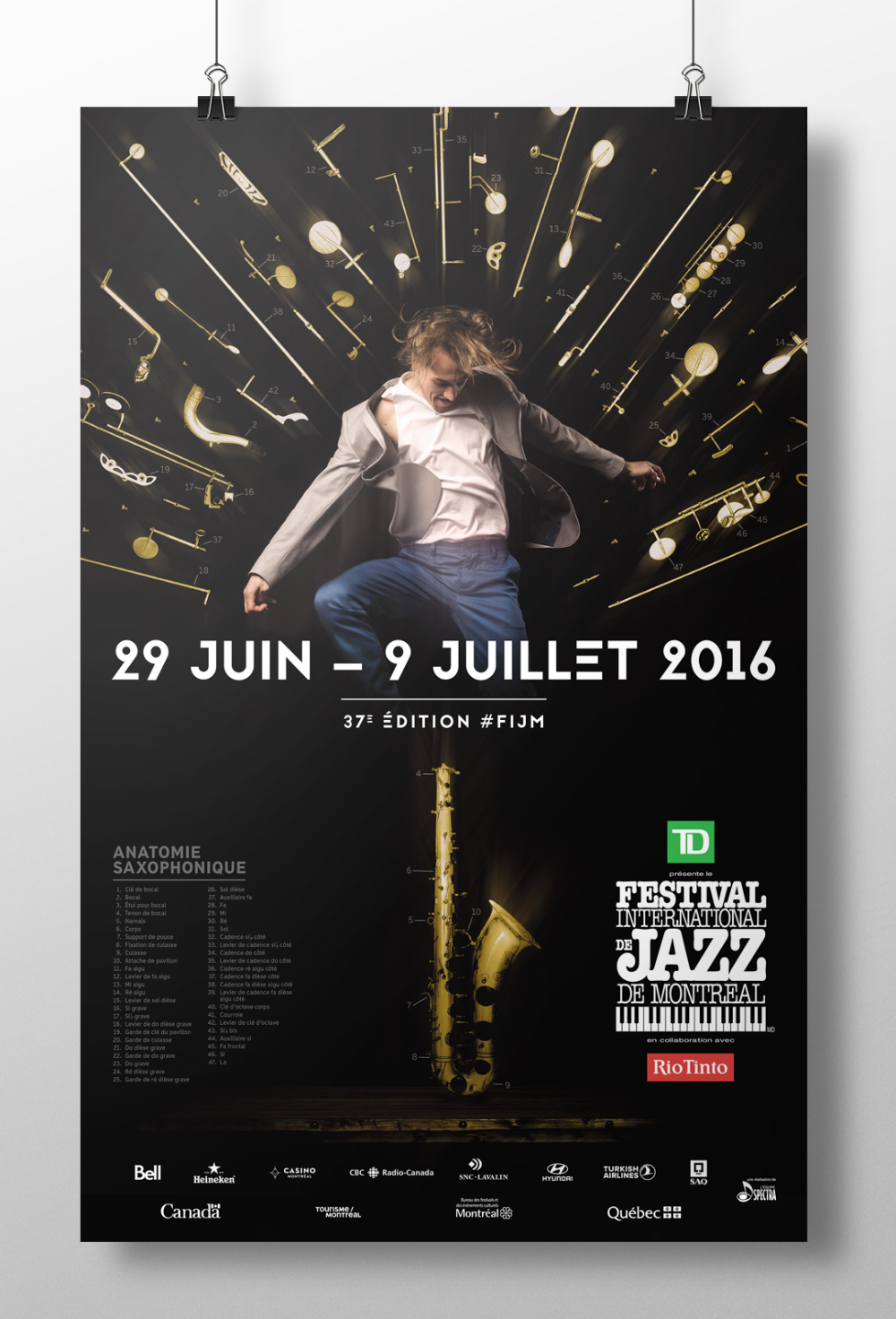 Festival International De Jazz De Montreal 2016 On Behance