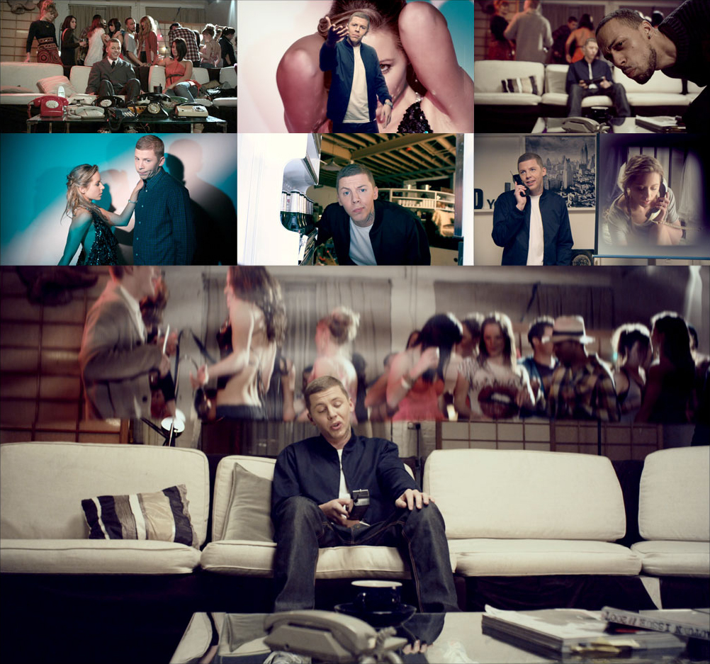 Professor Green compositing after effects