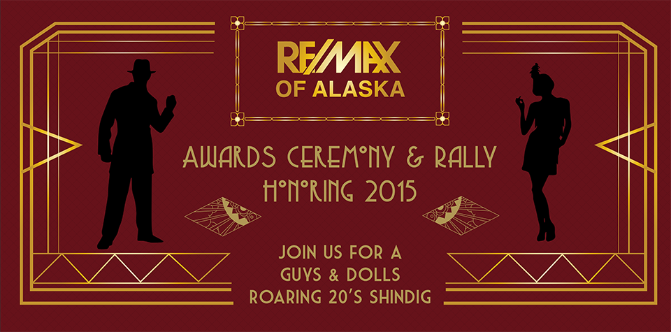 Event Graphics Awards Rally roaring 20's