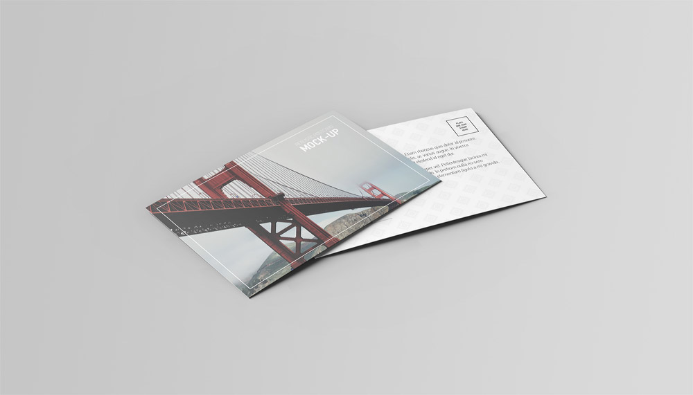 Postcard Amp Invitation Mock Up On Behance