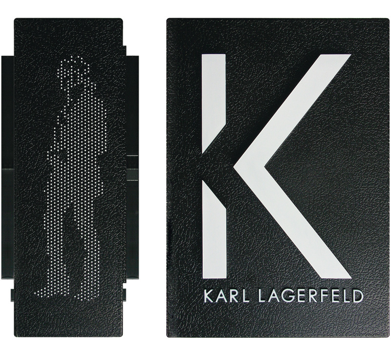 K Karl Lagerfeld Brand Identity On Behance