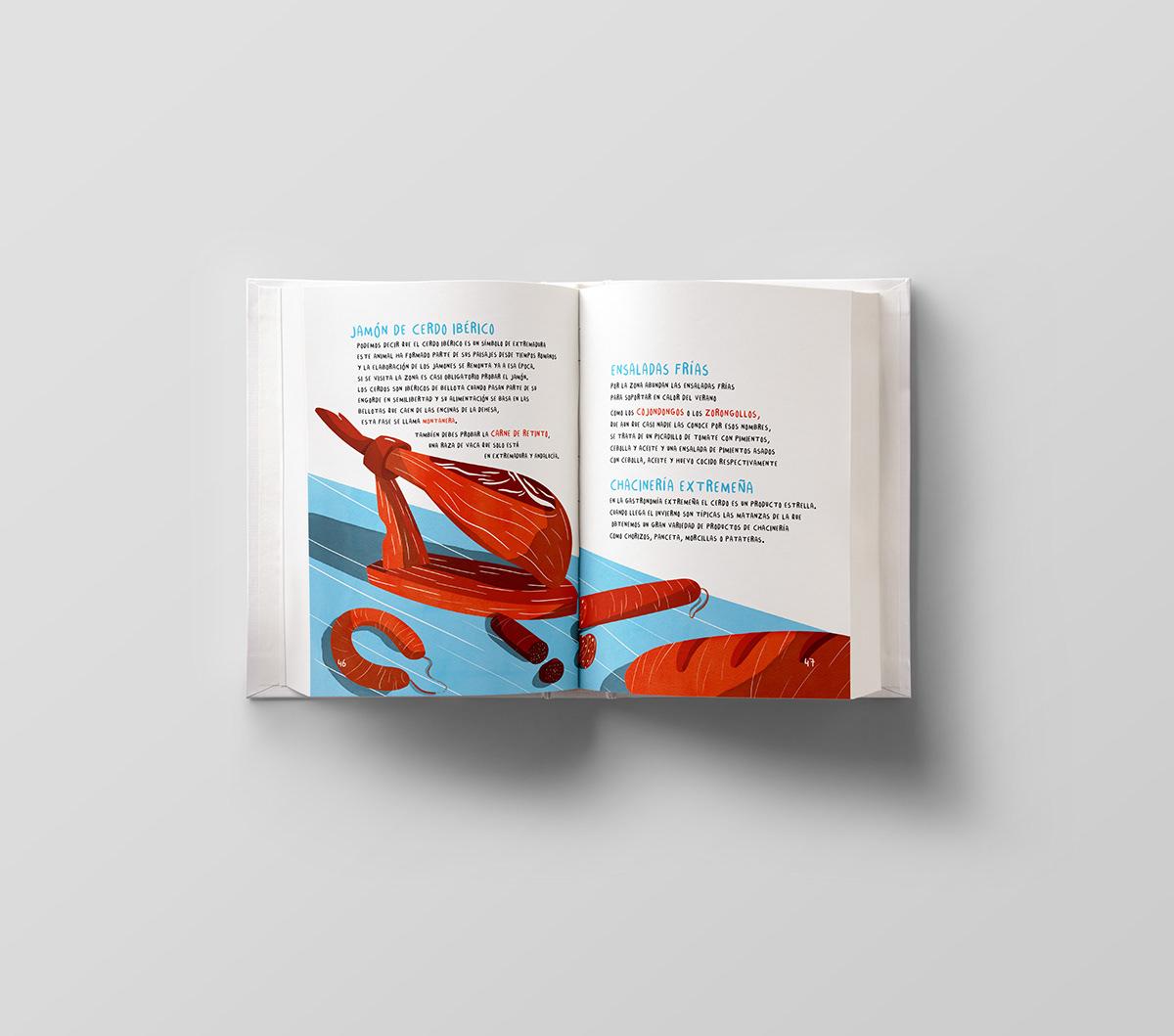 Guide city branding  Project editorial Diseño editorial mérida diseño gráfico graphic design  ILLUSTRATION