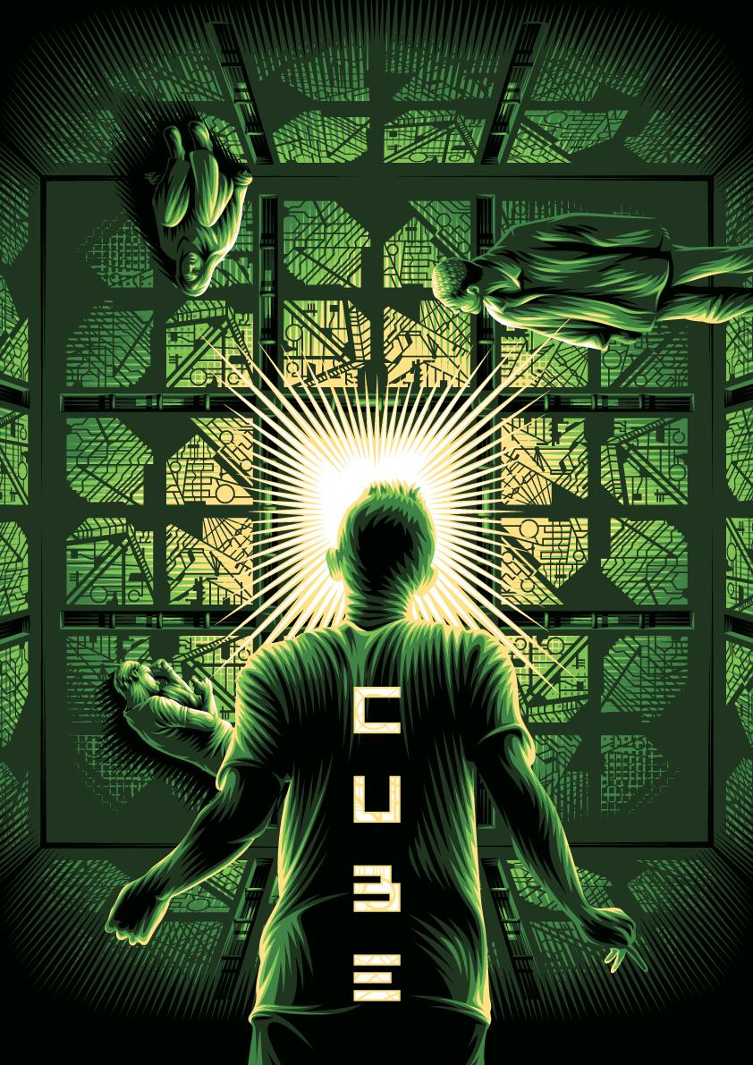 Cube alternative movie poster on Behance