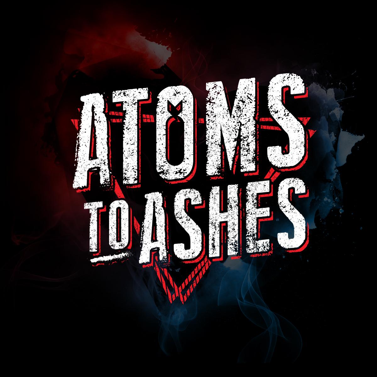 logo groupe de musique Atoms to ashes Image de marque