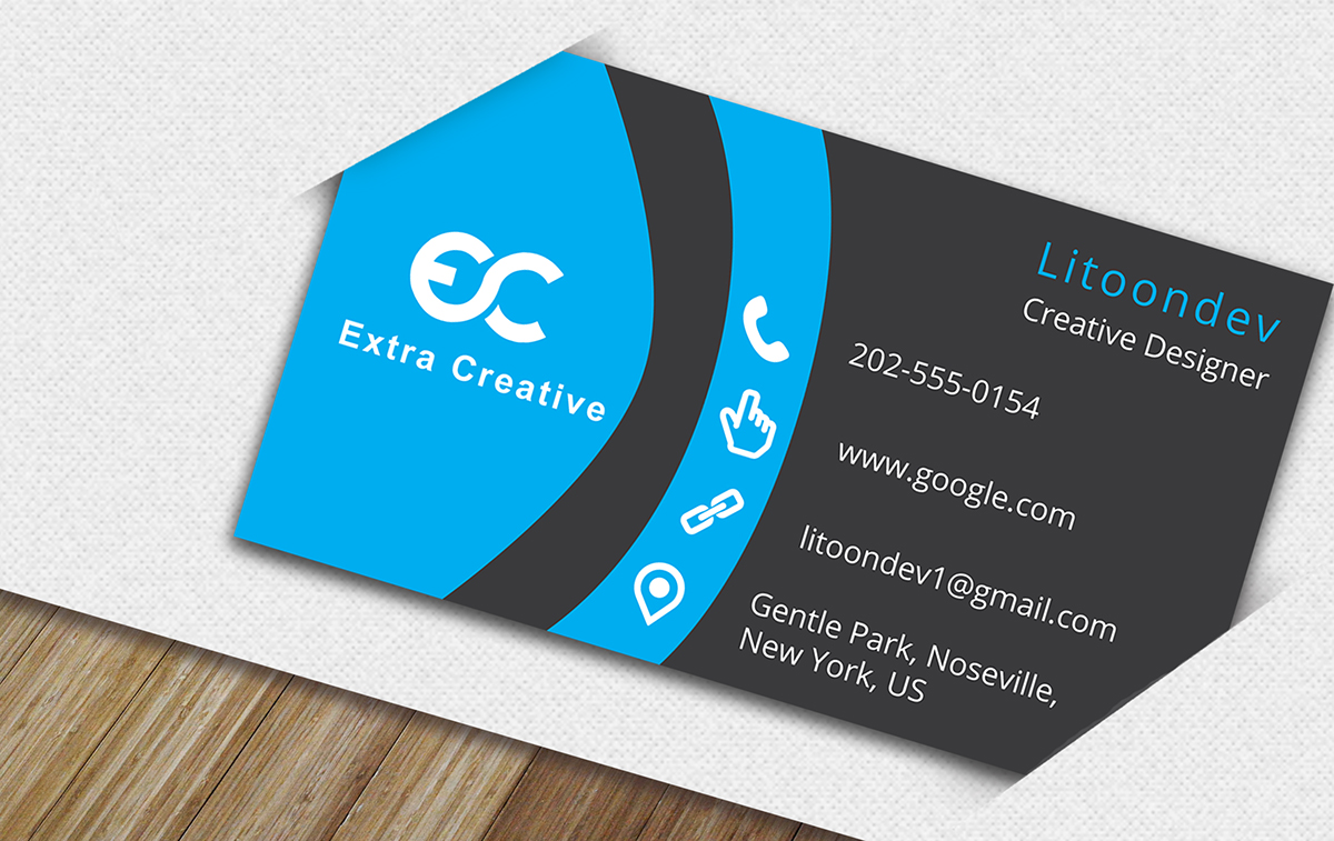 Free Business Card PSD File Download on Behance