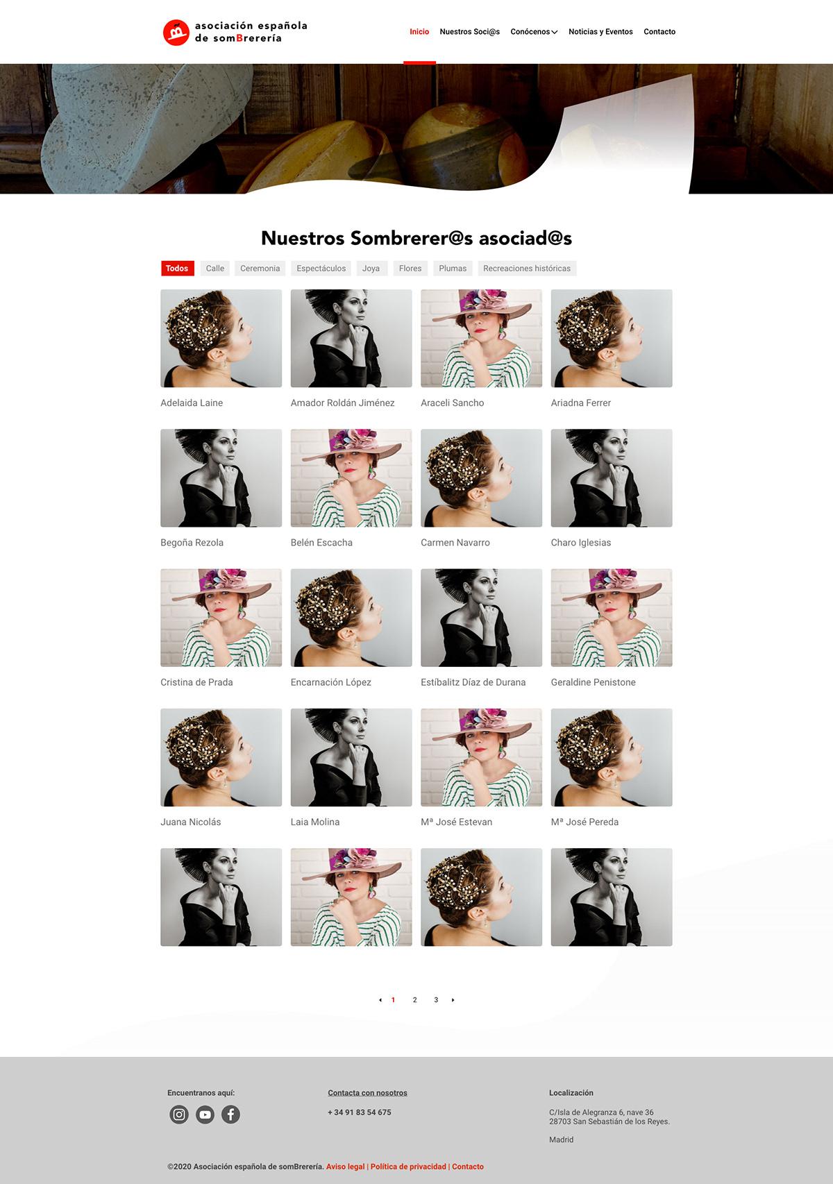 hat guild Web Design  ux/ui design