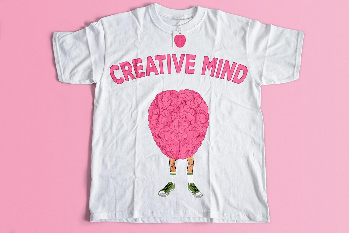 Creative Mind T Shirt Designs On Behance
