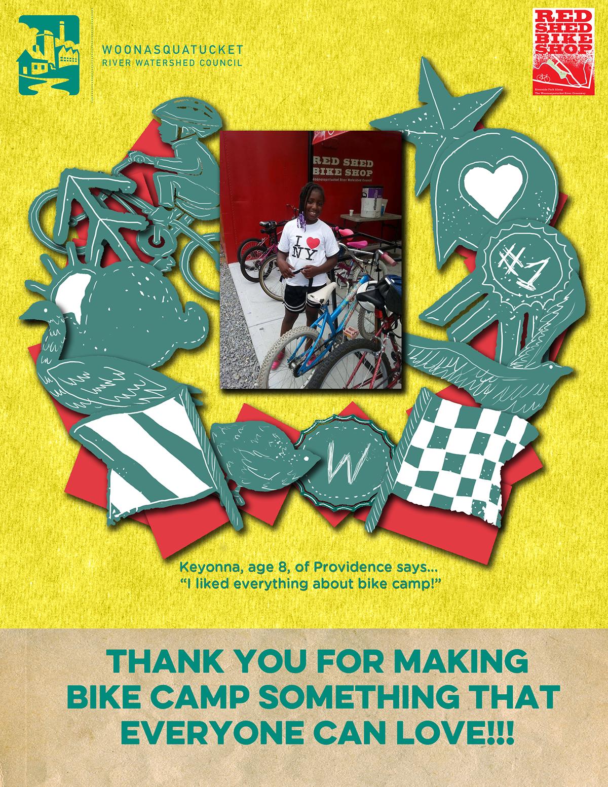 wrwc bike camp thank you posters on wacom gallery