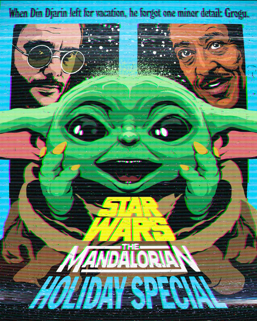 baby yoda grogu pedro pascal star wars The Mandalorian