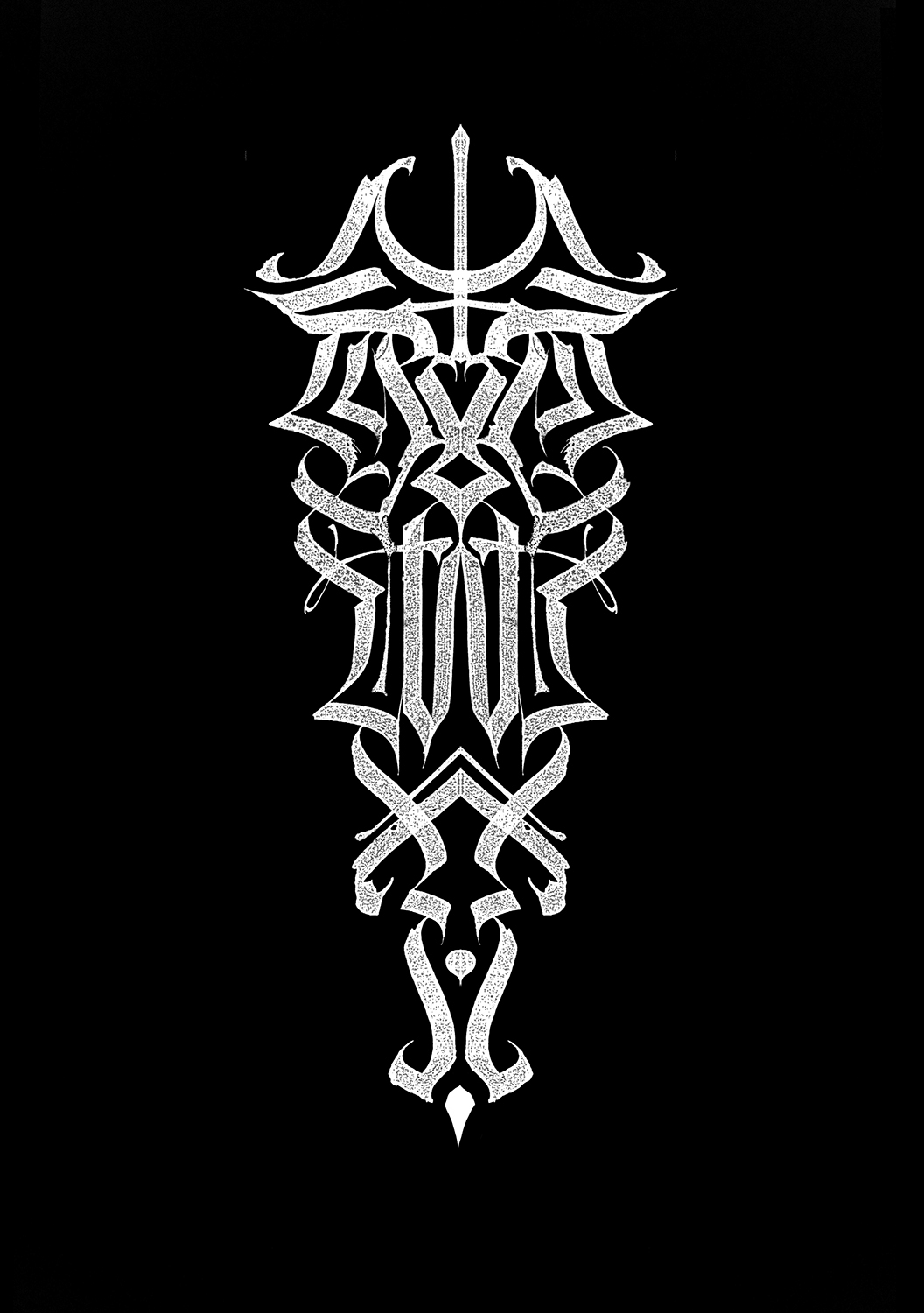 «sorcery letters modern gothic calligraphy vol on behance