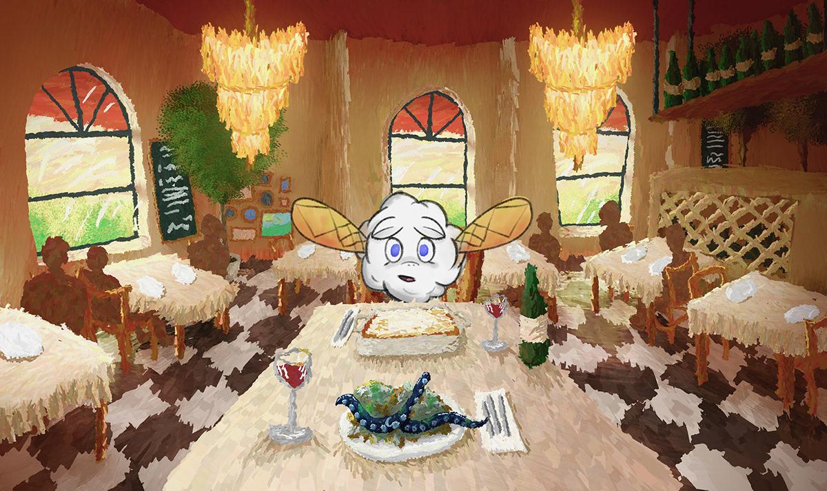 Drawing  painting   digital ILLUSTRATION  dream dreams vibrant van gogh impressionism
