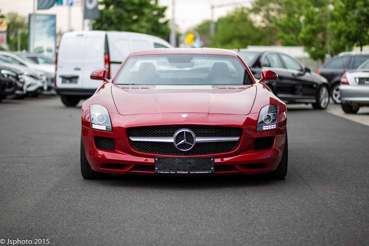 Mercedes-Benz SLS AMG on Behance