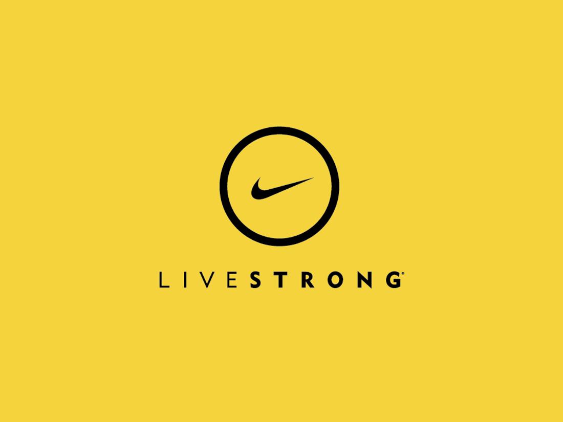 Nike Livestrong brand identity...
