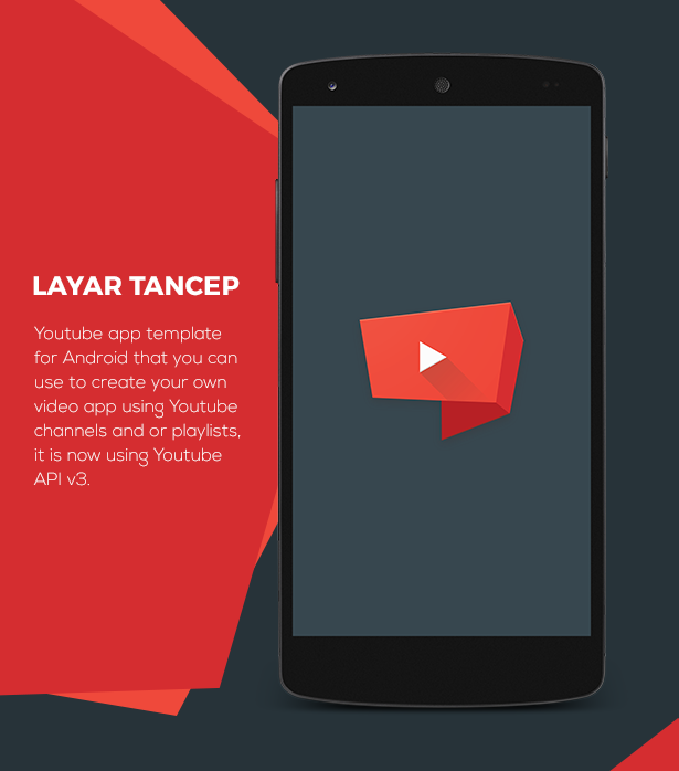 Layar Tancep: Youtube App for Android on Behance
