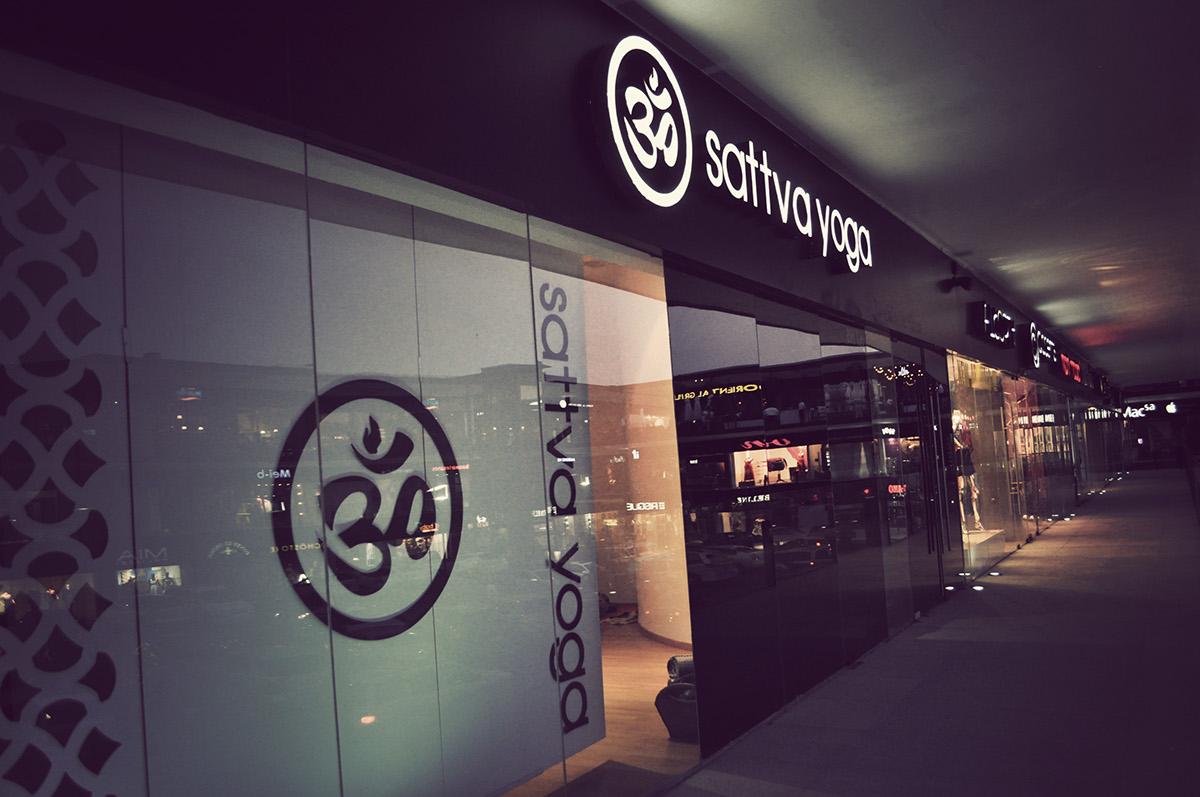 Sattva Yoga® on Behance