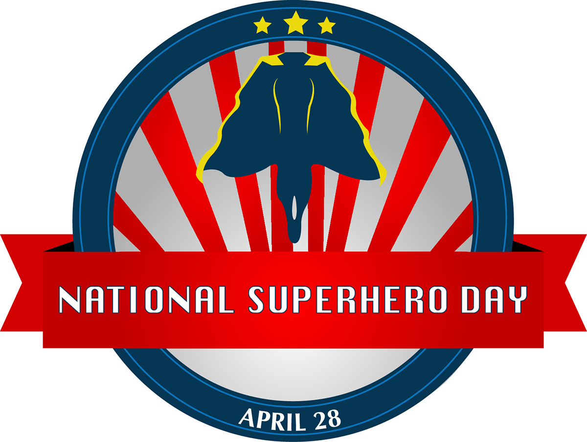 National Superhero Day Campaign on Behance