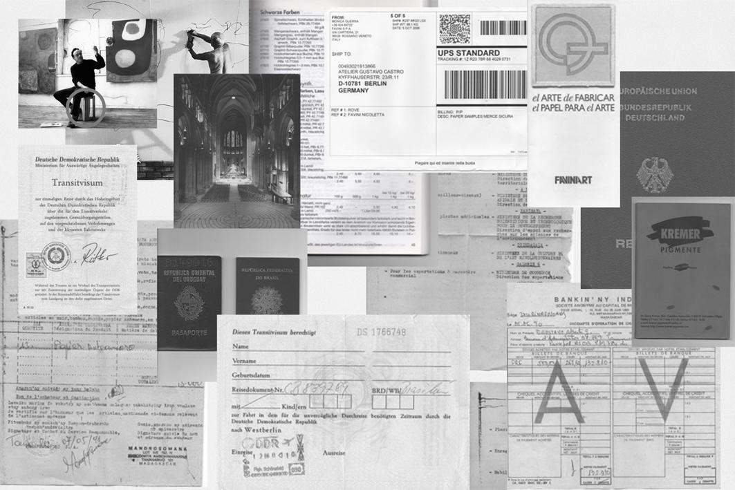 art dossier brochure dalinha design graphic artist Catalogue Exhibition  arte exhibición muestra Artista diseño grafica