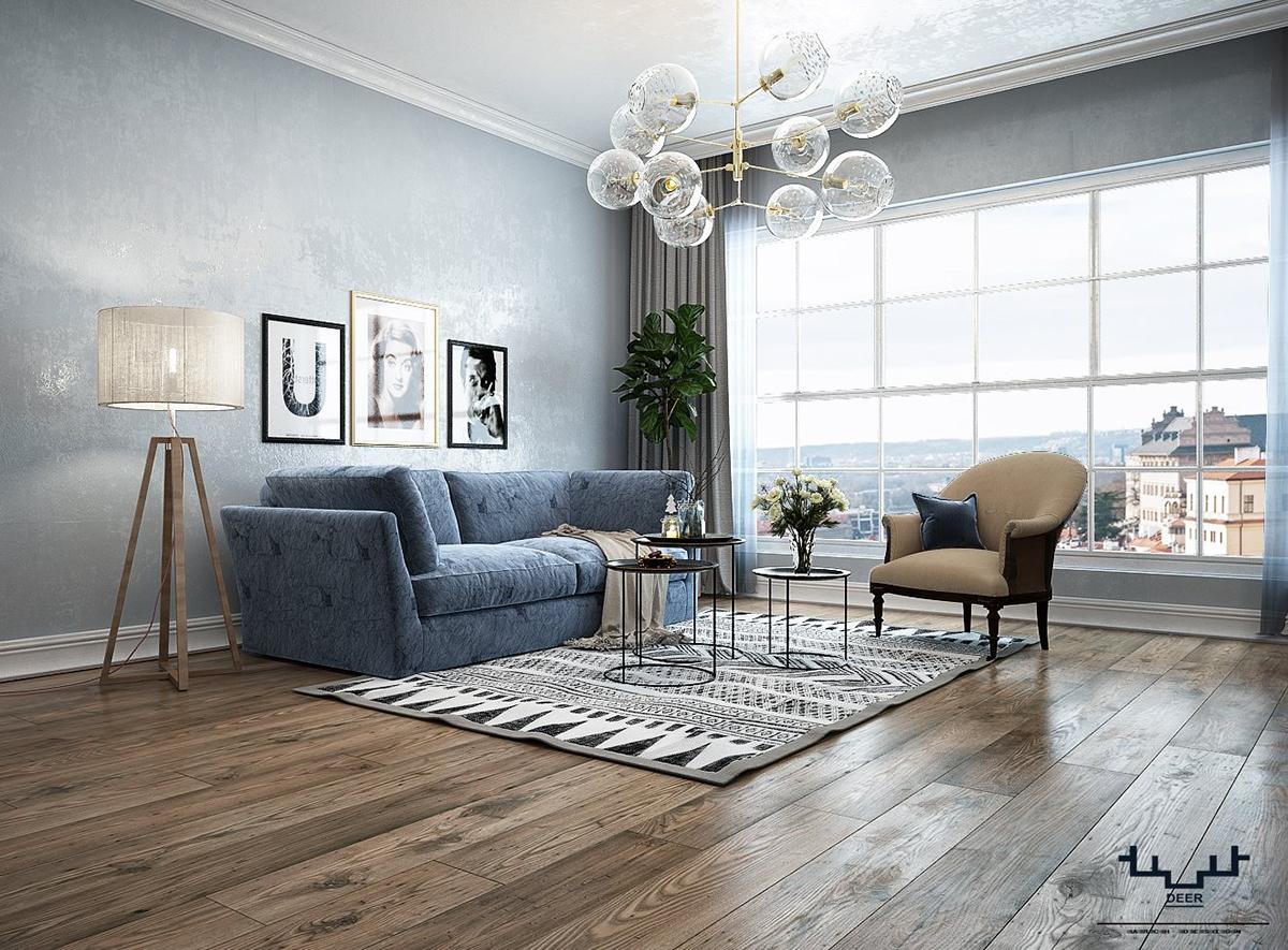 warm dark scandinavian living room on behance