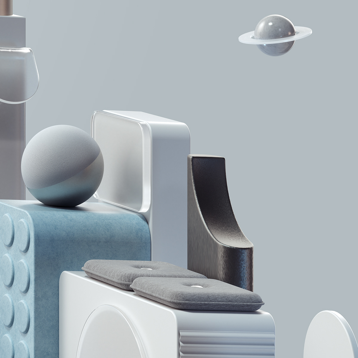 3D automobile car cinema4d design Digital Art  ILLUSTRATION  inspiration octane Racing