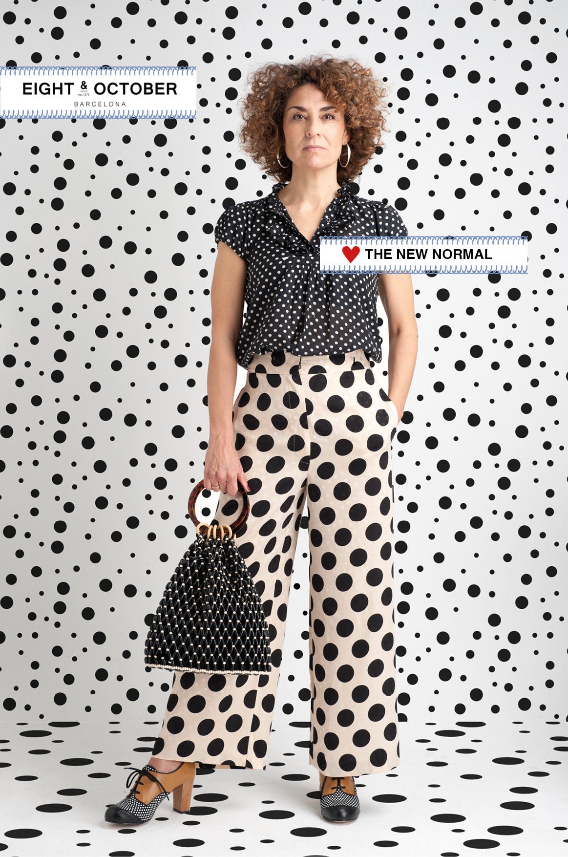 Image may contain: dress, fashion and pattern (fashion design)