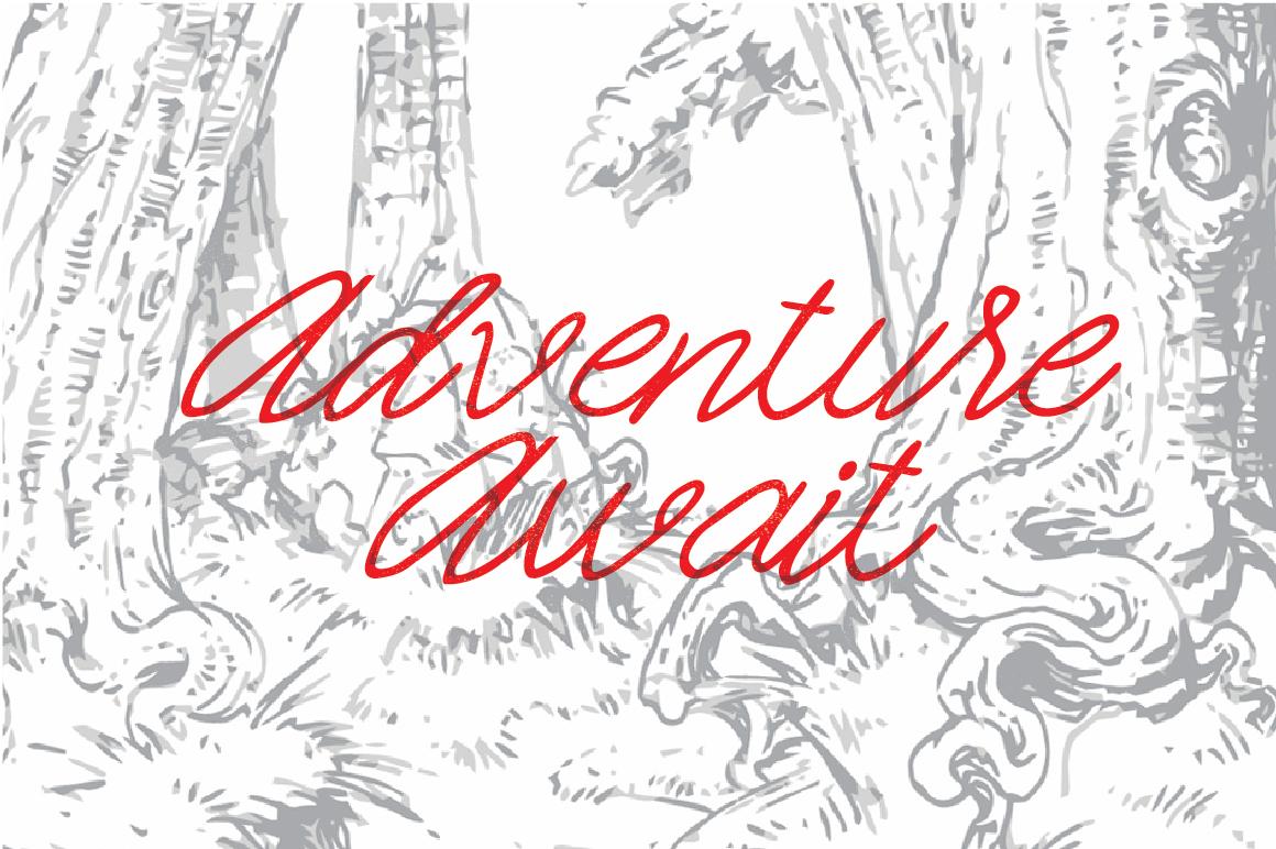free font monoline handtype Script handmade Typeface Free font download old vintage draw hand draw