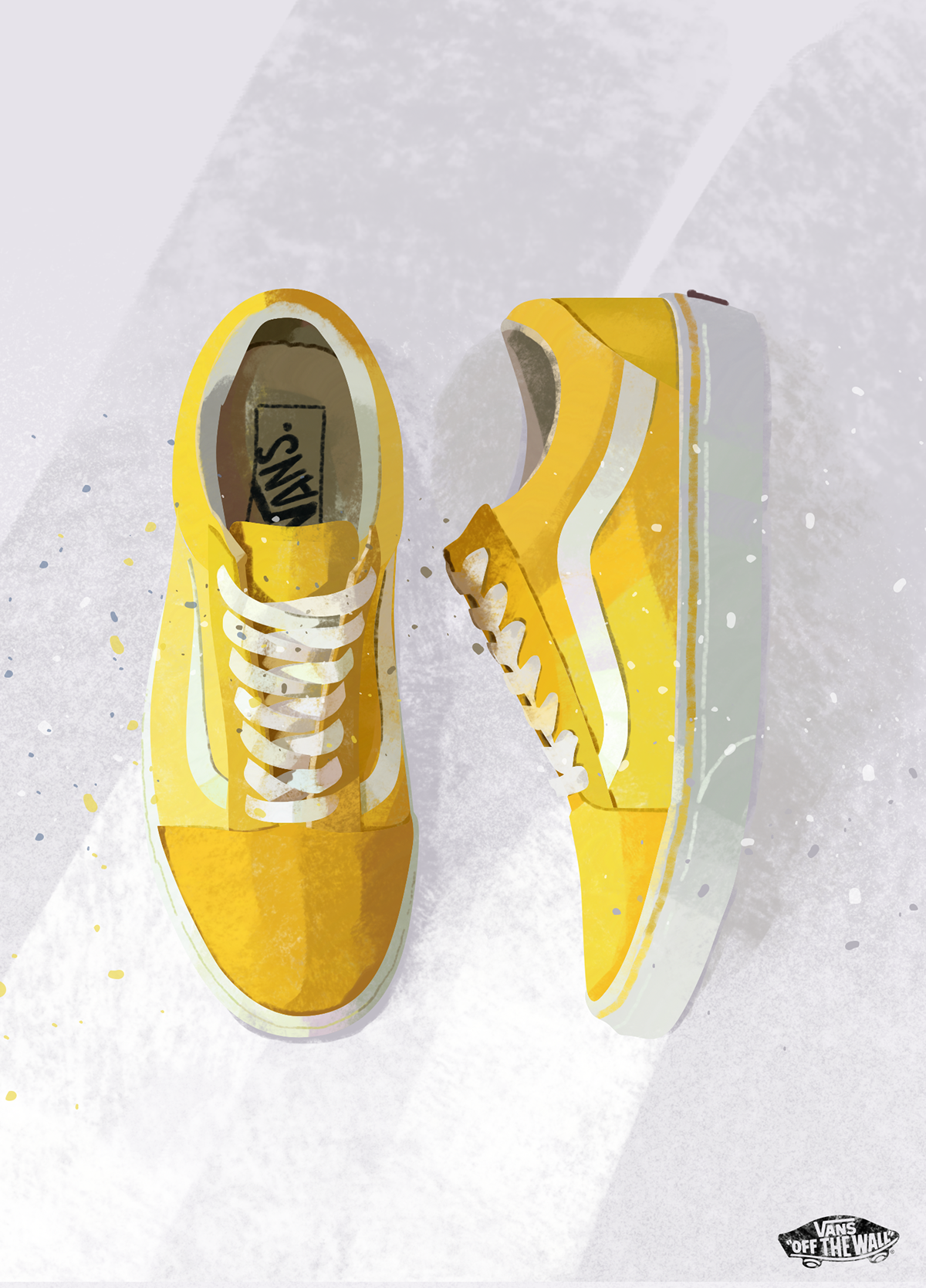 off the wall | VANS on Pantone Canvas Gallery