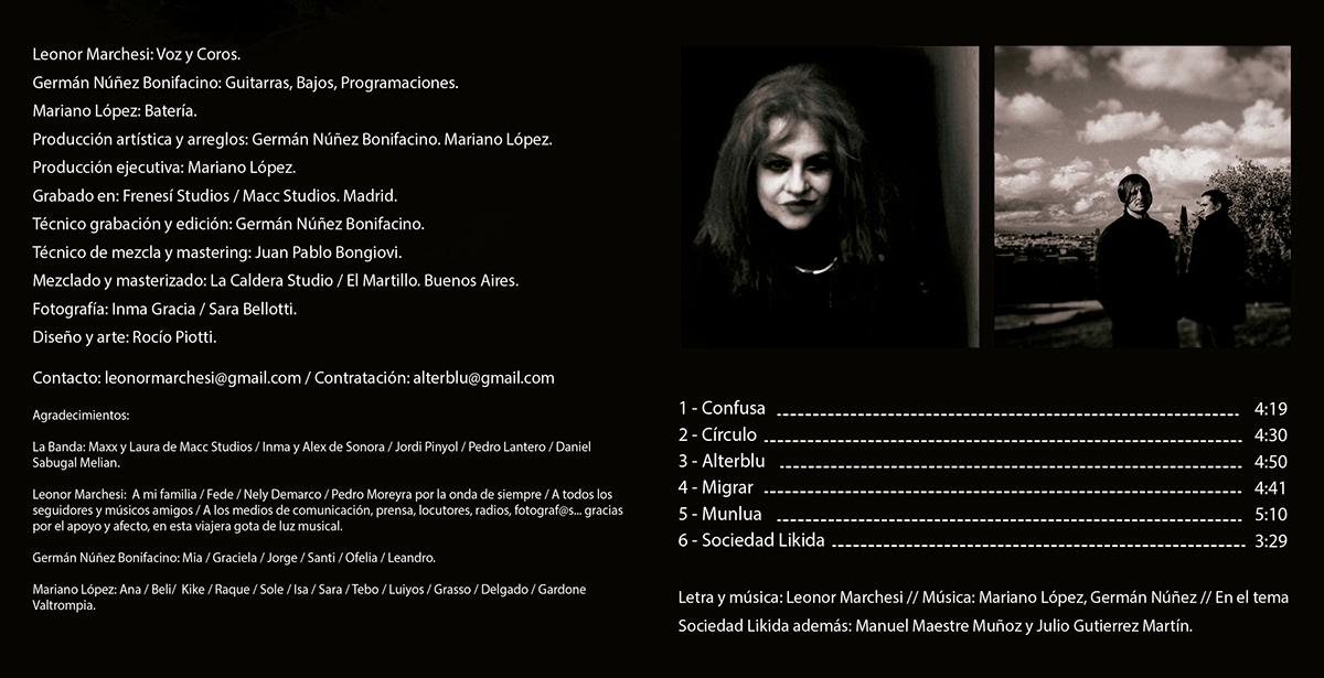 CD Interior design for AlterBlu Leonor Marchesi