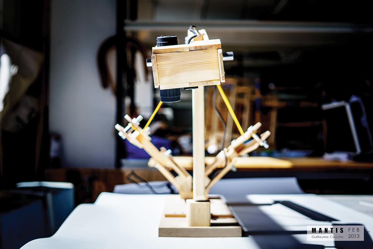 Adobe Portfolio design kinetic art movement Lamp Royal College of RCA ide