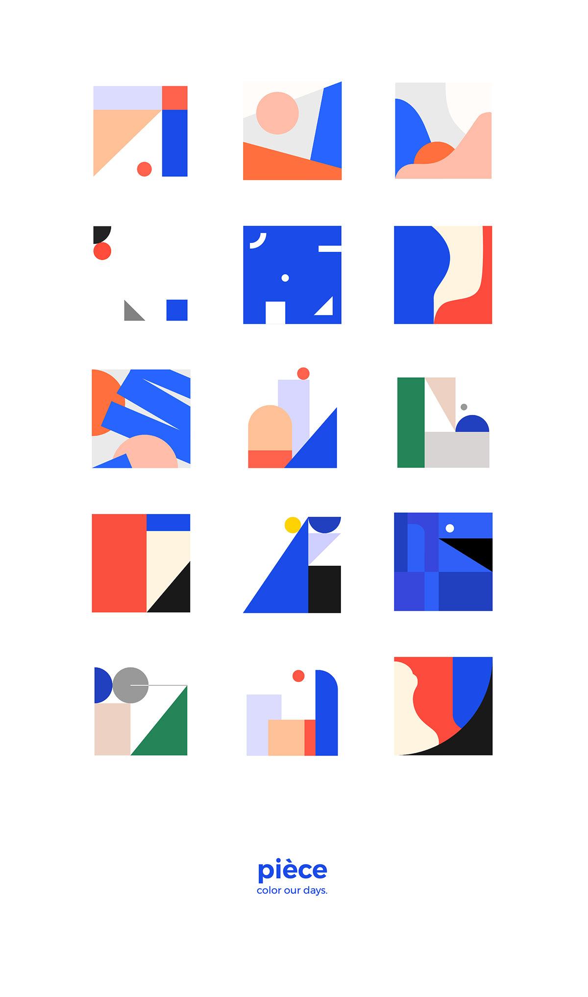 ILLUSTRATION  branding  package graphic design  art Stationery graphic package design  color design