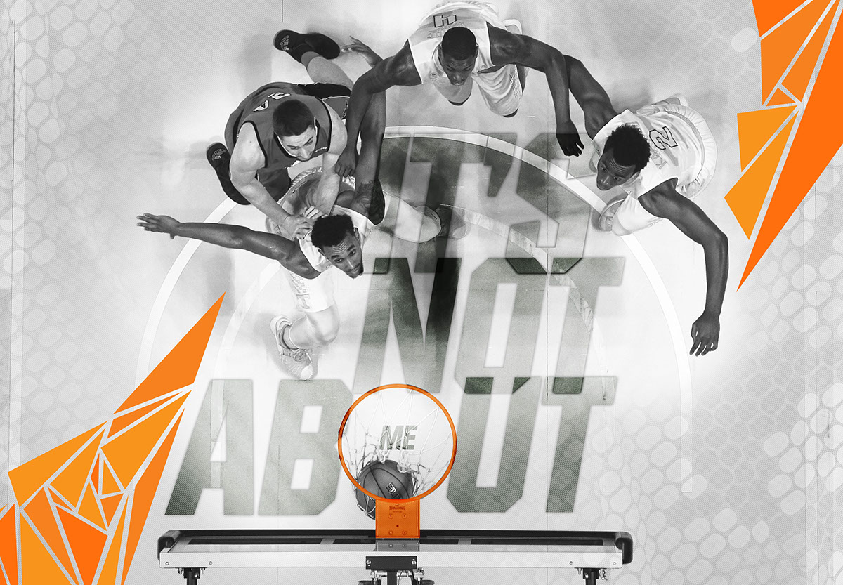 Tennessee basketball graphics on behance a wall graphic designed for the entrance of the locker room amipublicfo Choice Image