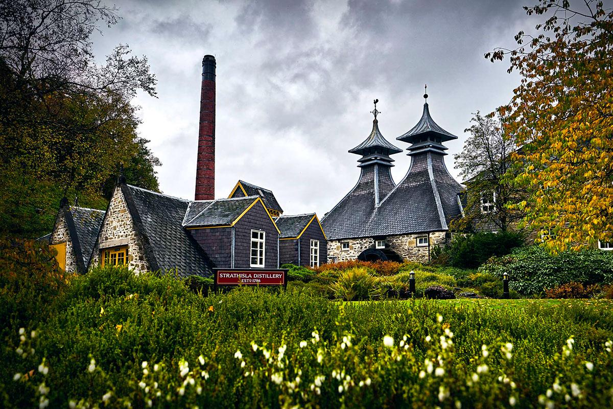 Strathisla Distillery on Behance