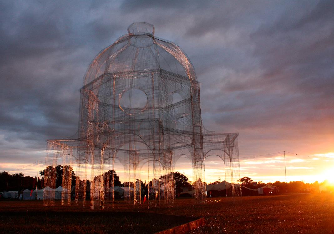 #tresoldi #secretgardenparty #mesh #transparence #architecture #church  #floating church