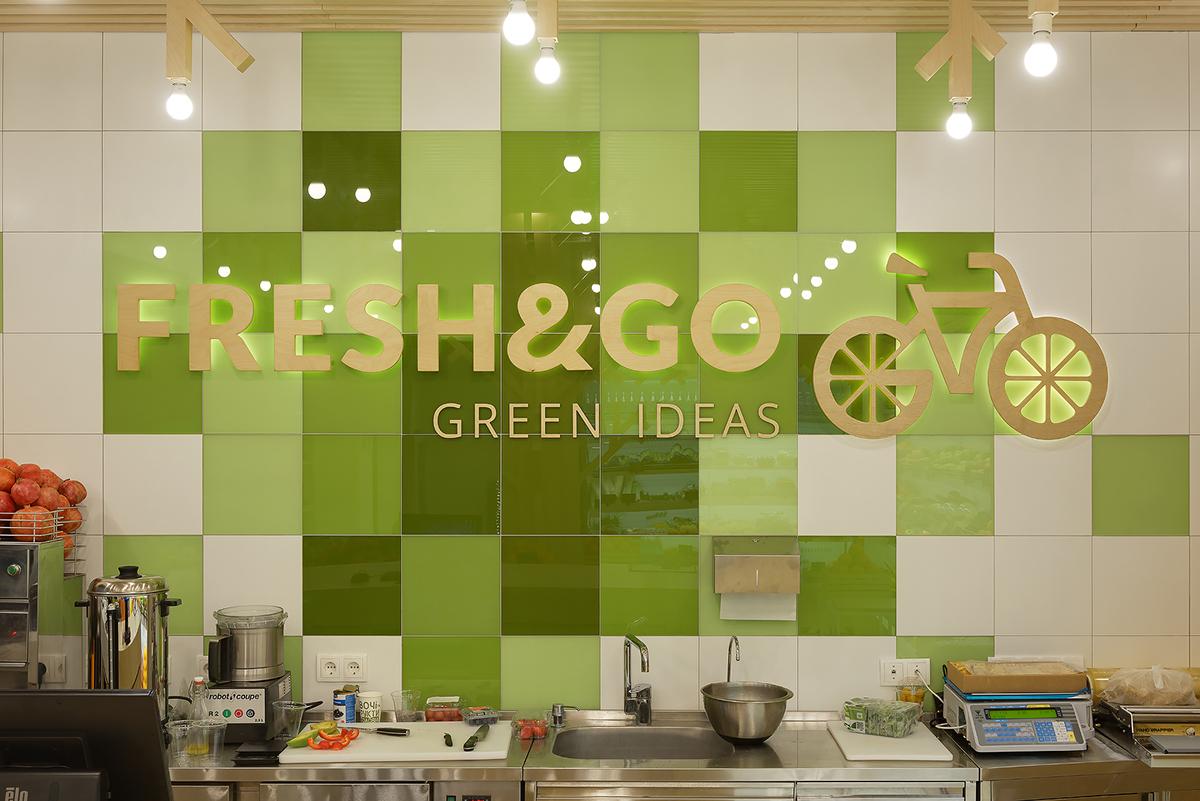FRESH & GO, green ideas for your health on Behance