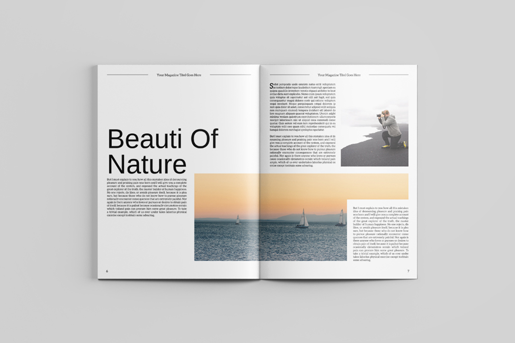 indesign multipurpose magazine template on behance