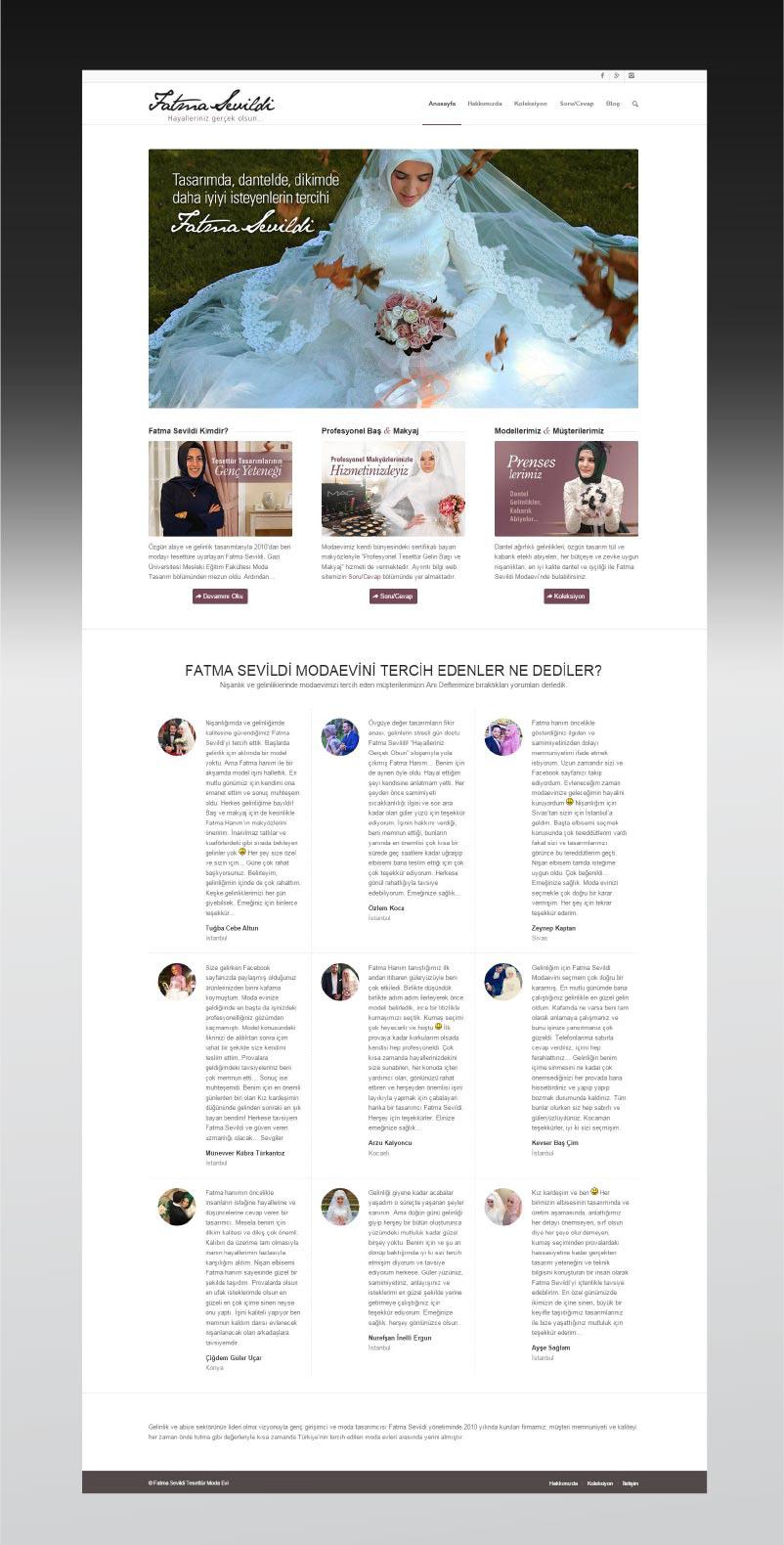 Fatma Sevildi Fashion House houte couture
