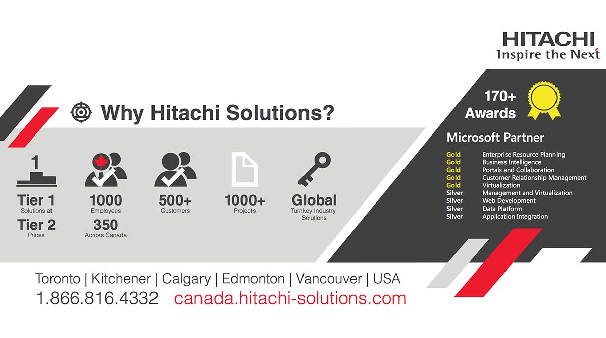 infographic hitachi Canada