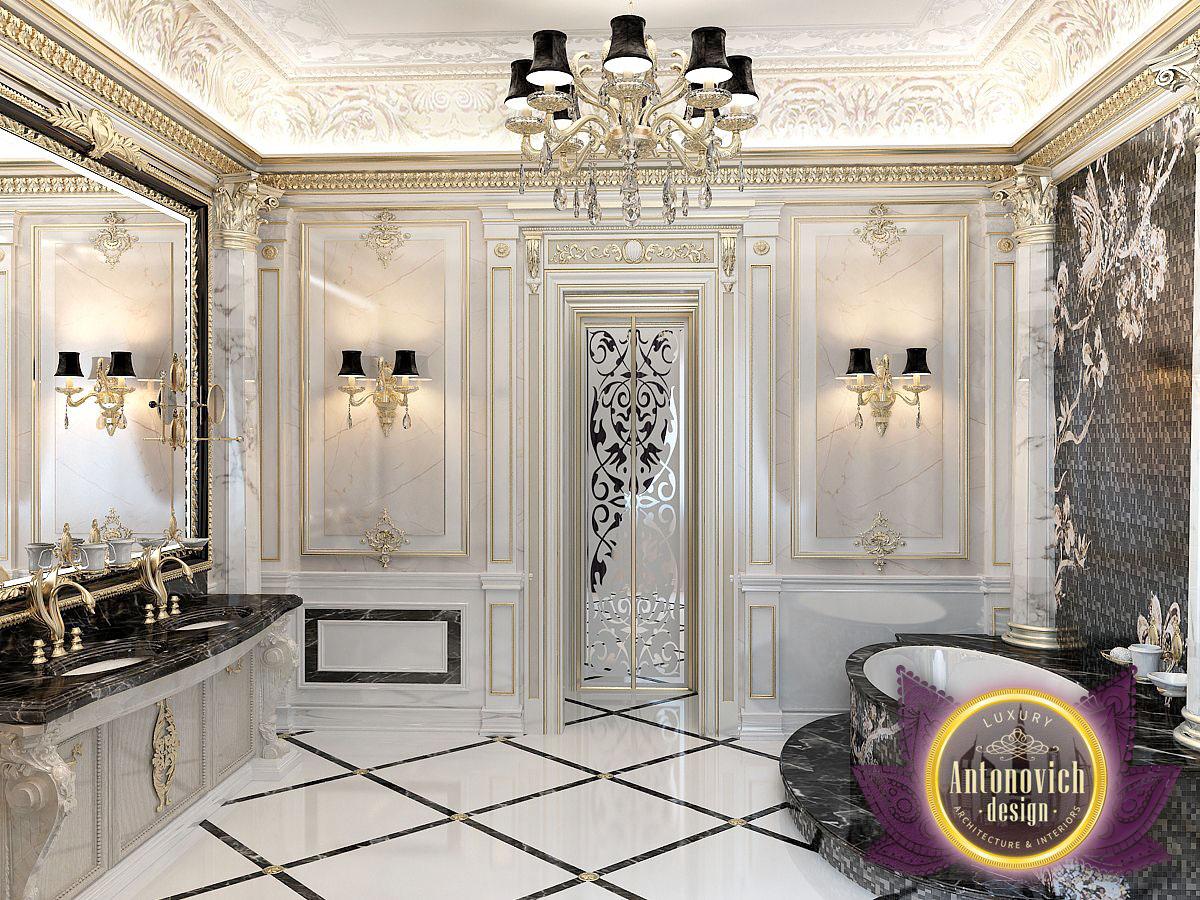 Luxury Home Interiors Bathroom: Bathroom Interior Designs From Luxury Antonovich Design On