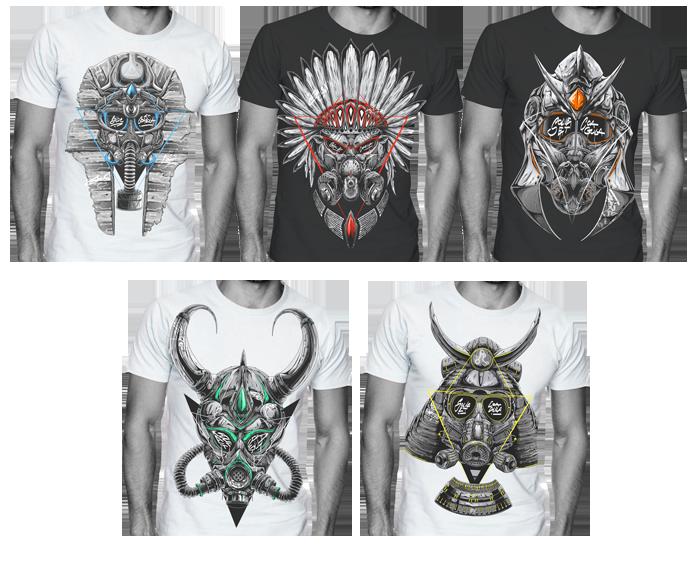 apparel t-shirts Clothing screen printing