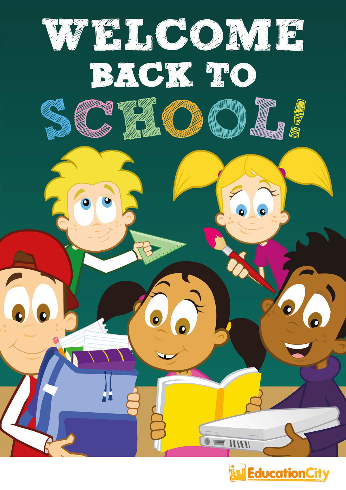 educationcity  welcome back to school poster on wacom gallery