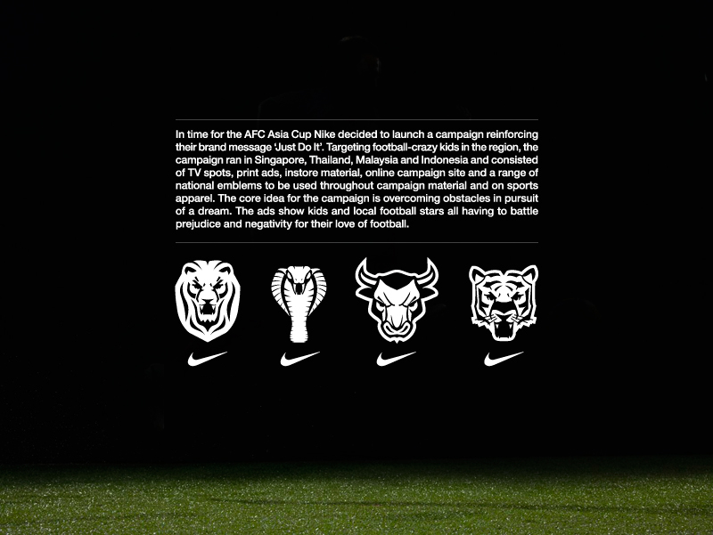 Nike just do it football campaign sea on behance voltagebd Images