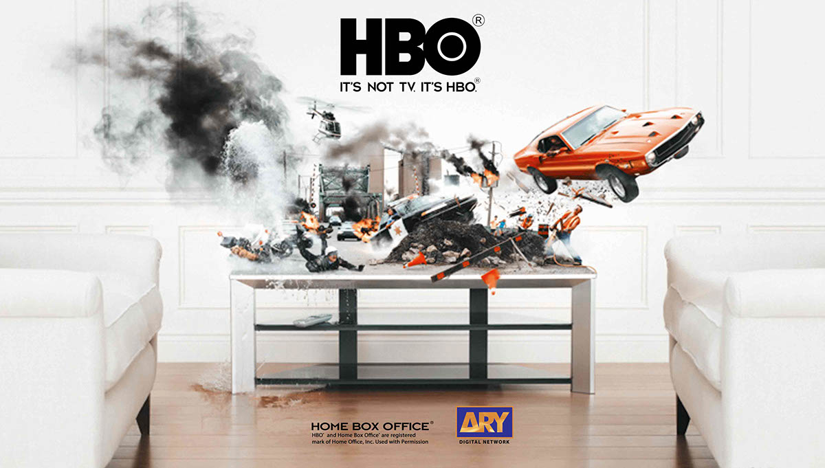 HBO ads on Behance