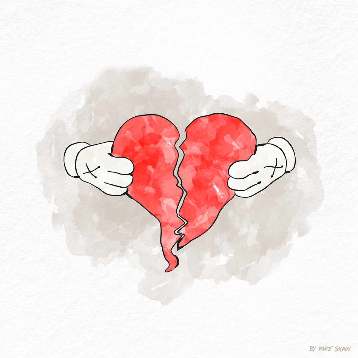 """808s & Heartbreak"" Illustration on Behance"