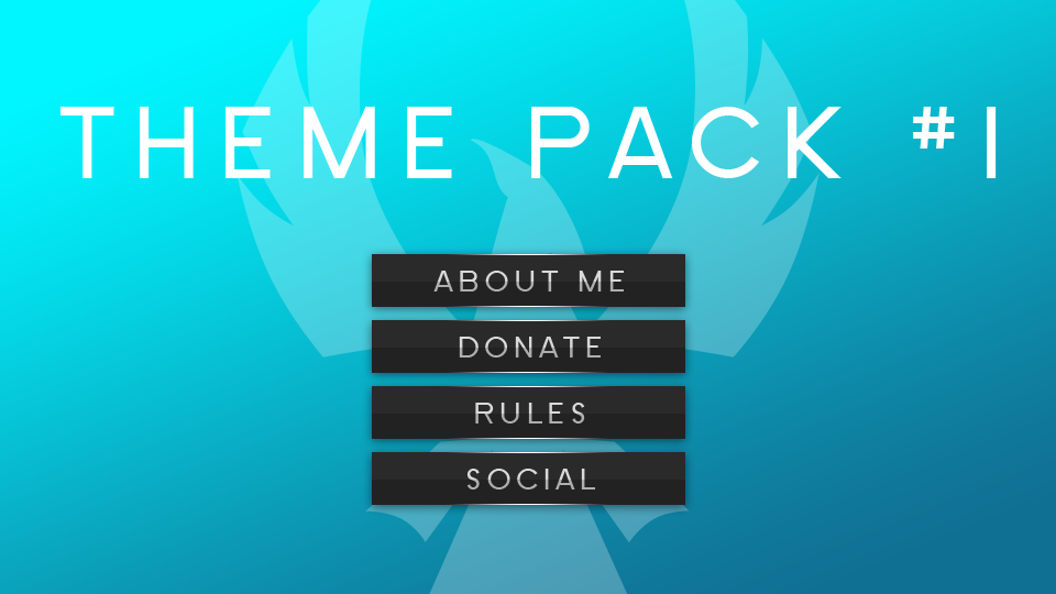 Free Twitch Panel Theme Packs On Behance