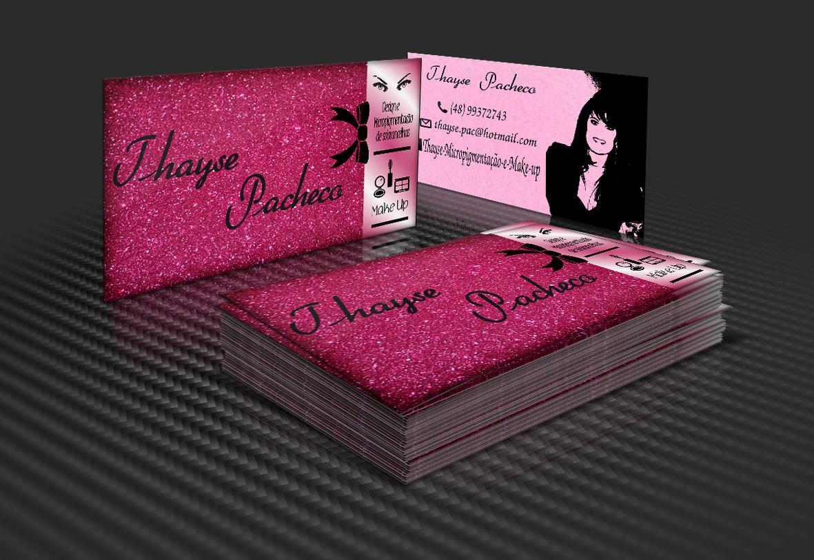 Excepcional Cartão de visita para Designer de Sobrancelhas. on Behance OR27