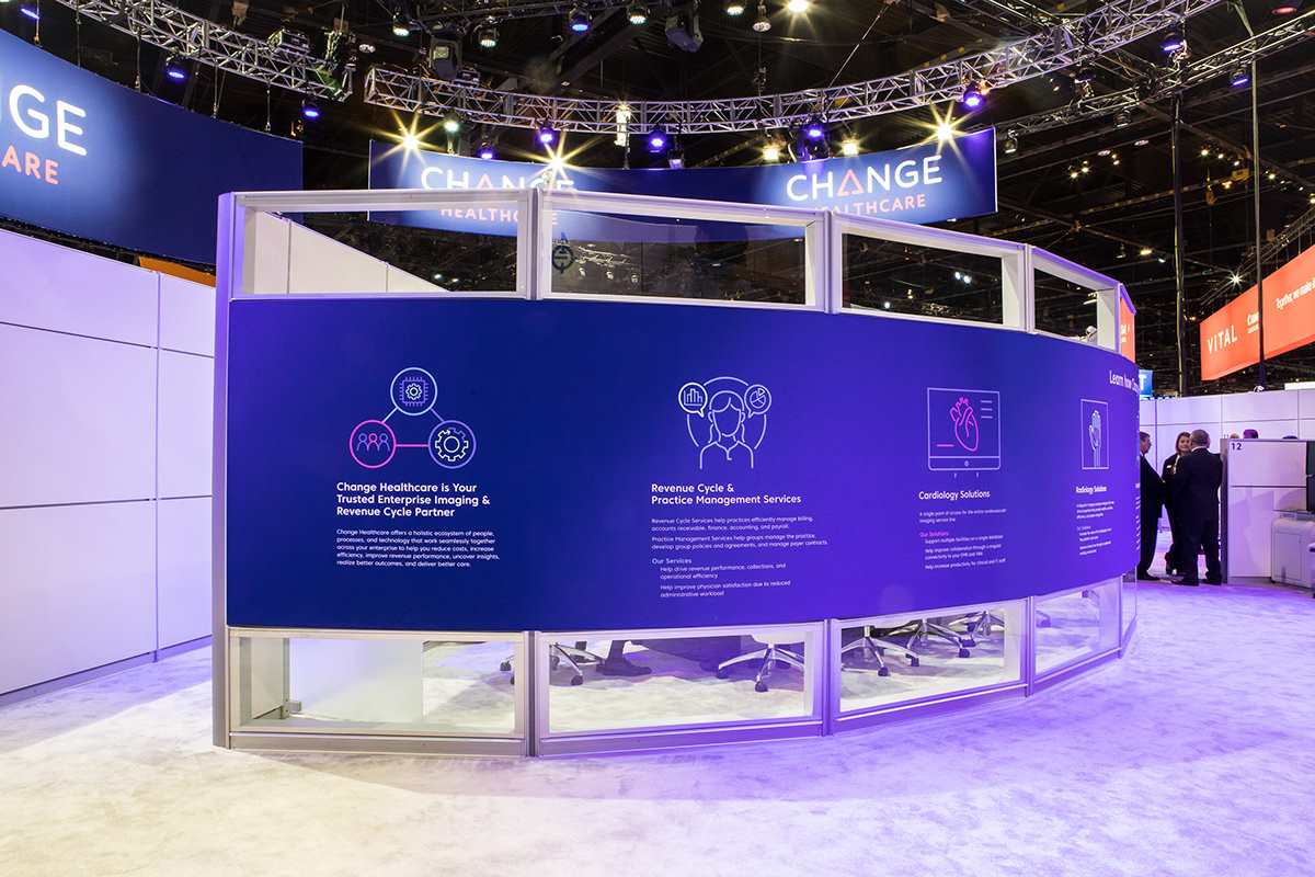 Change Healthcare Trade Show on Behance